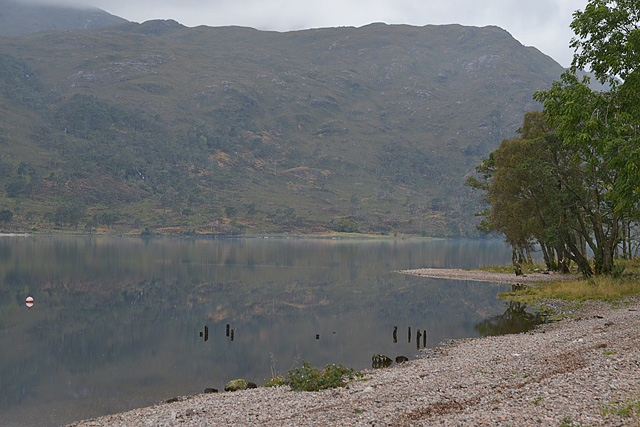 Small promontory on Loch Arkaig