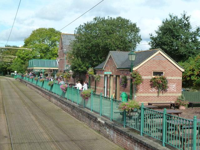 Seaton Tramway - Colyton Station