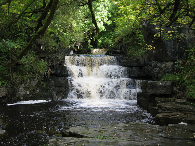 Waterfall on Bow Lee Beck