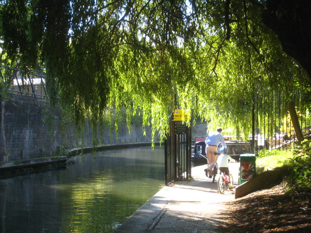 The towpath of the Regent's Canal