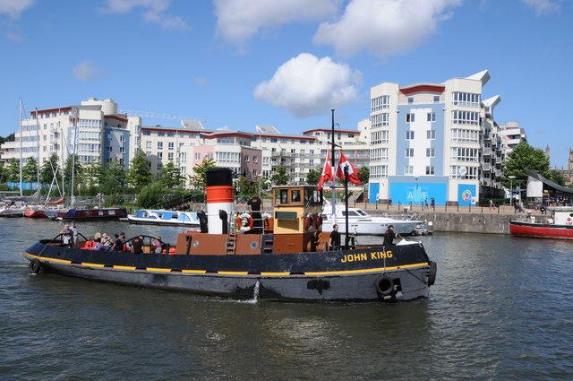 King John on Floating Harbour