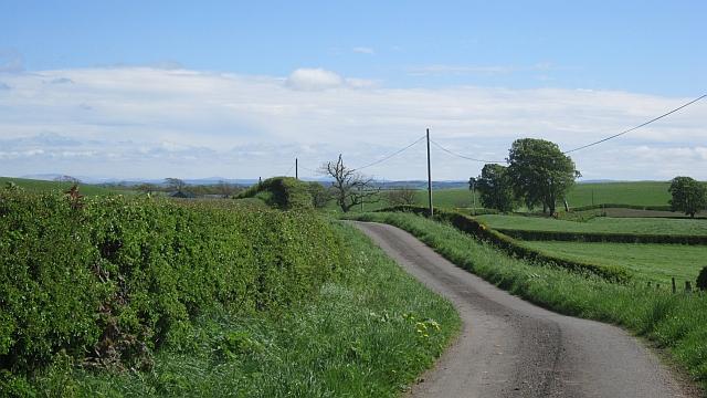 Minor road, near Langlands