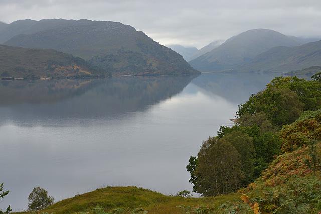 Looking up Loch Arkaig