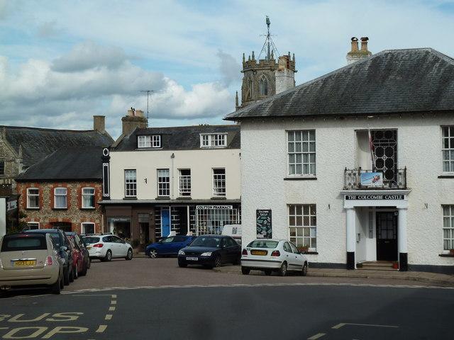 Colyton - town centre