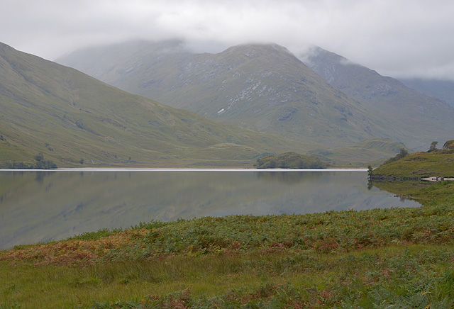 Arkaig lochside west of Murlaggan