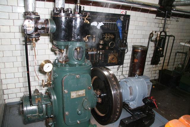 The Waterworks Museum - steam engine
