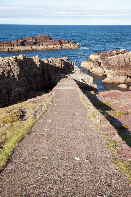 Ramp to the old jetty