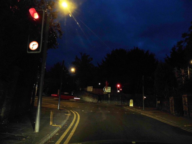 Waterden Road at the junction of Epsom Road