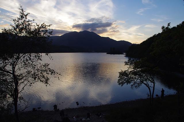 Loch Achray at dusk