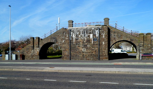Remains of Slip Bridge, Swansea