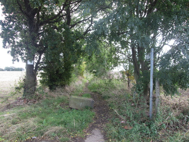Bridleway at  Muscle Hill