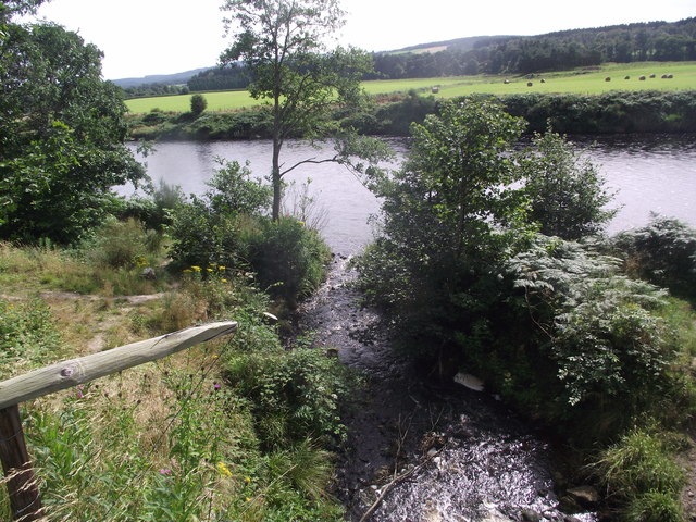 Burn of Bennie flows into the River Dee