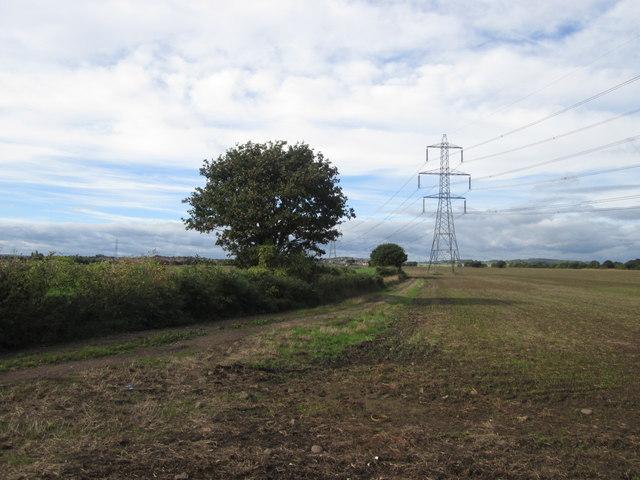 Wood Lane west of Carlton