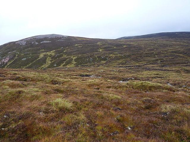 Across the Bealach a' Choire Creagach