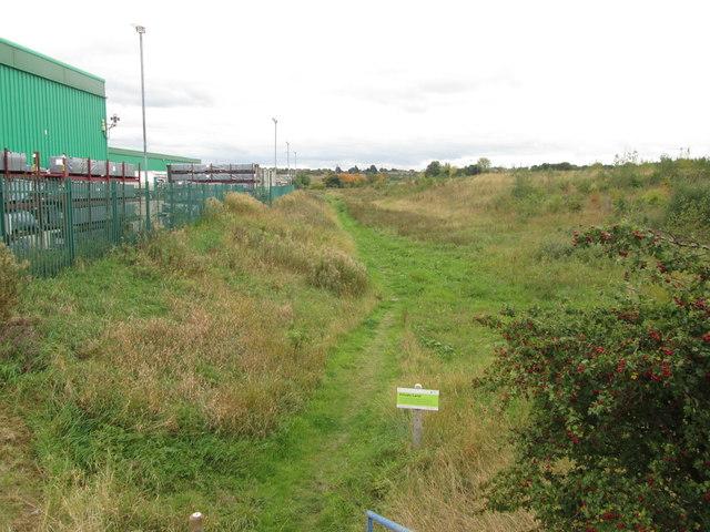 Footpath off Engine Lane, Grimethorpe