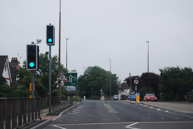 Pedestrian crossing, A27