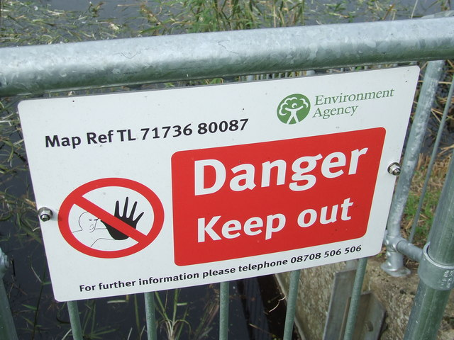 Environment Agency Sign