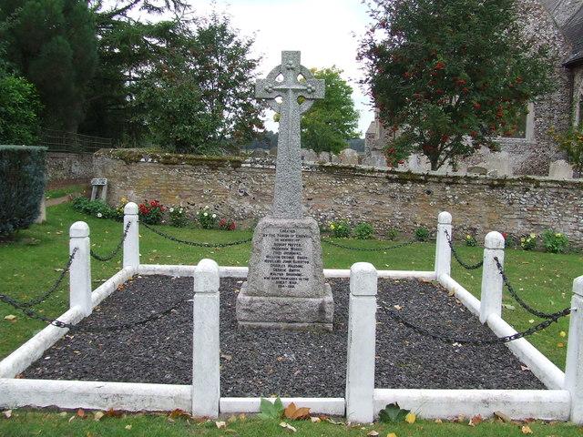 Eriswell War Memorial