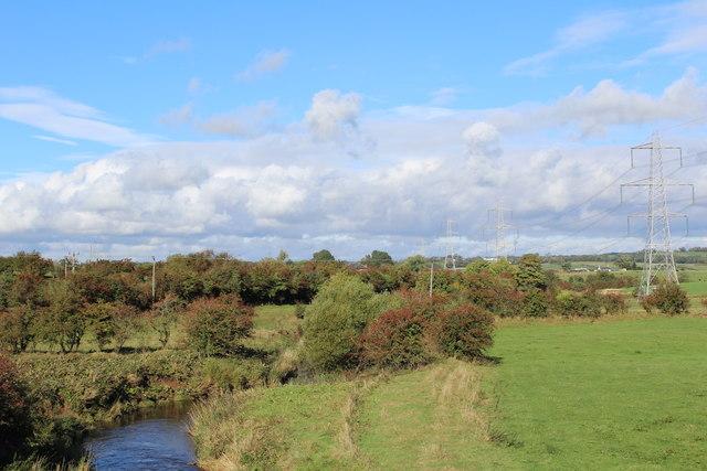 Cessnock Water east of Hurlford