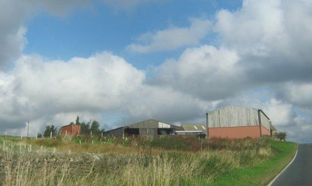Farm buildings at Dene House Farm