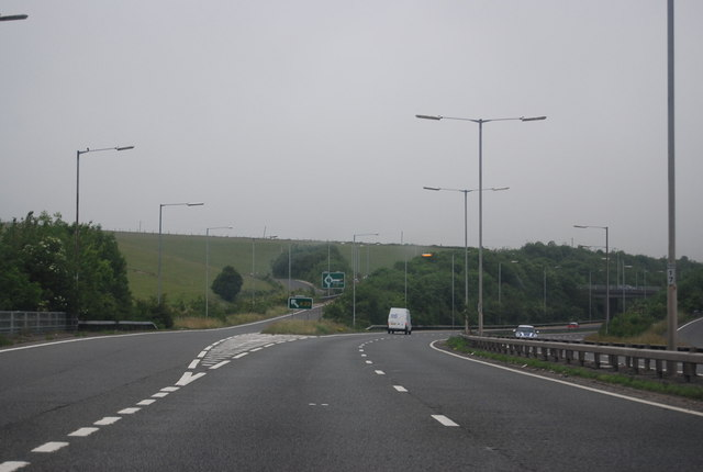 A23 turning, A27