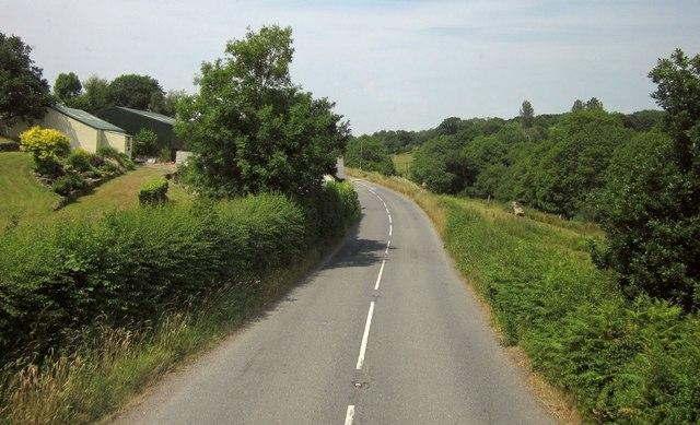 B3137 at Underhill