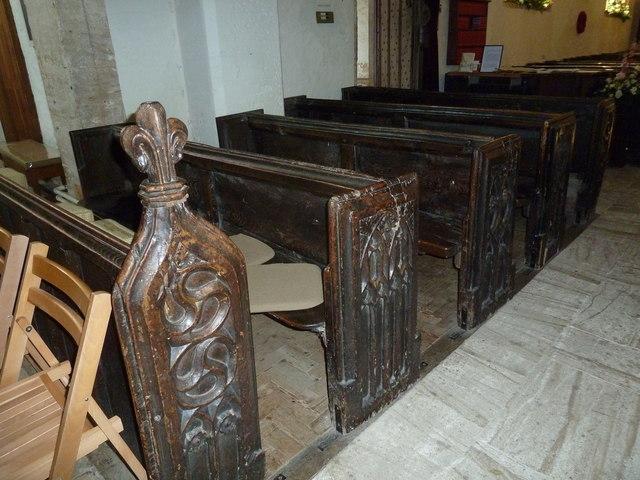 Inside St Andrew, Trent (I)