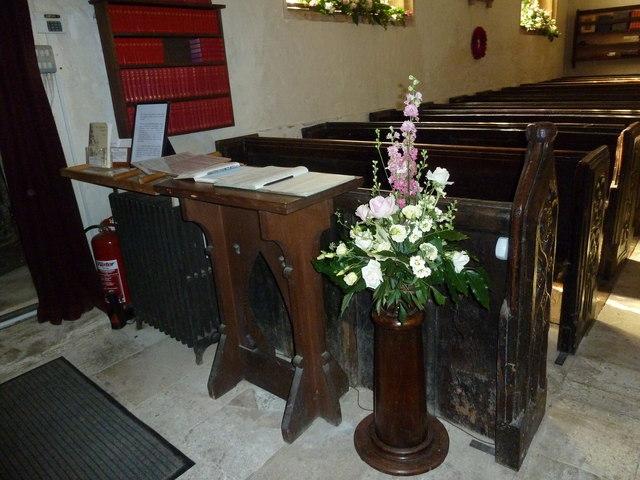 Inside St Andrew, Trent (VII)