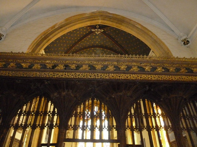 Inside St Andrew, Trent (XIII)
