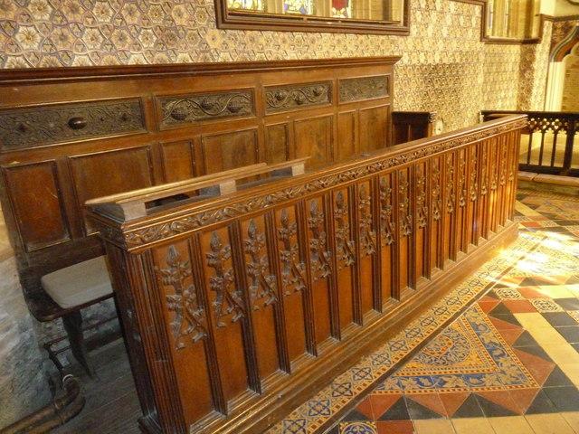 Inside St Andrew, Trent (XIV)