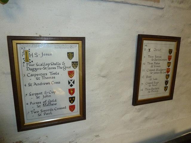 Inside St Andrew, Trent (XVI)