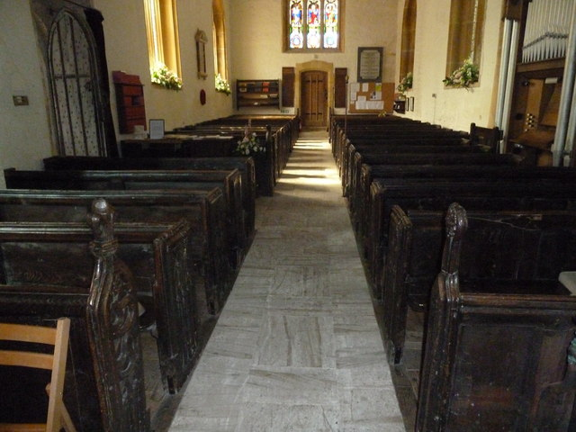 Inside St Andrew, Trent (XVII)