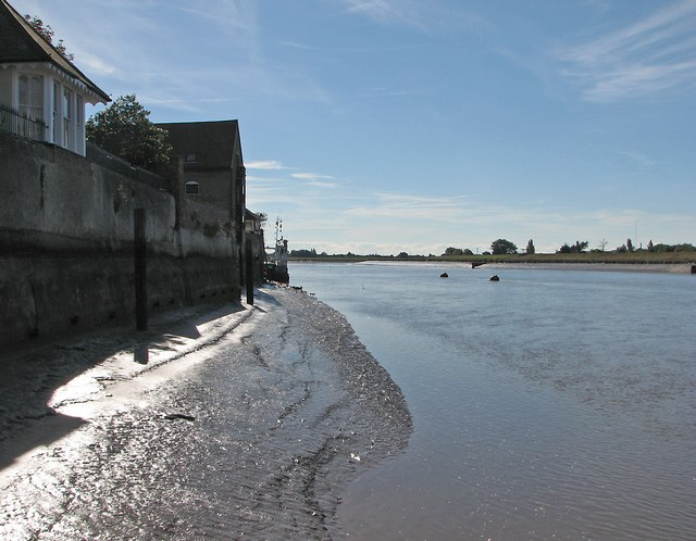 King's Lynn: south from the ferry landing stage