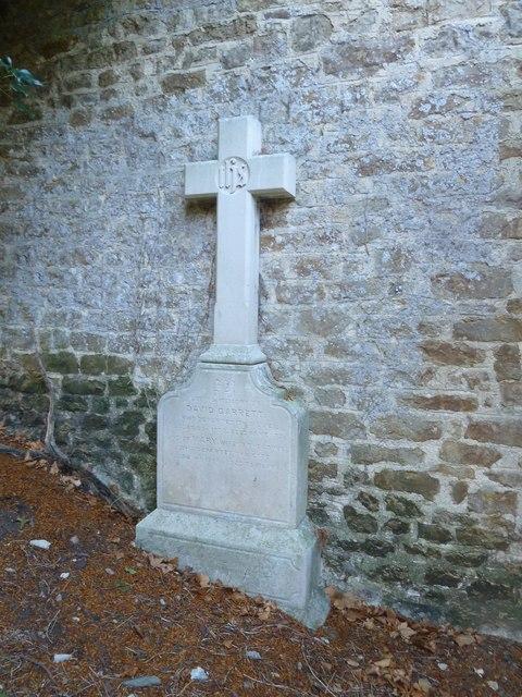 St Andrew, Trent: external memorial
