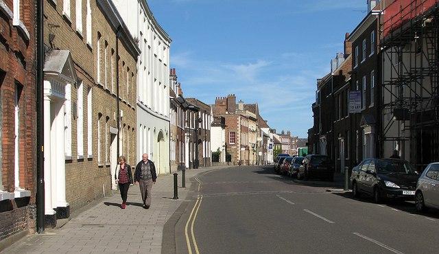 King's Lynn: north on King Street