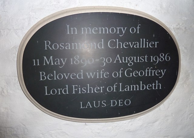 St Andrew, Trent: memorial (3)