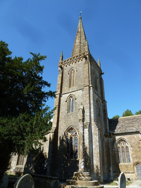 St Andrew, Trent: churchyard (E)