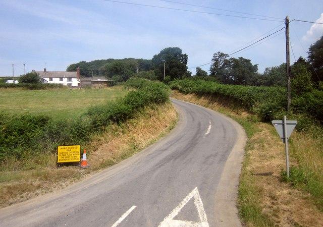 Lane at Oxham Cross