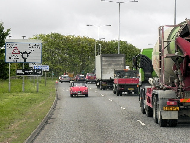 Coldharbour Lane (A20 Link Road), Maidstone