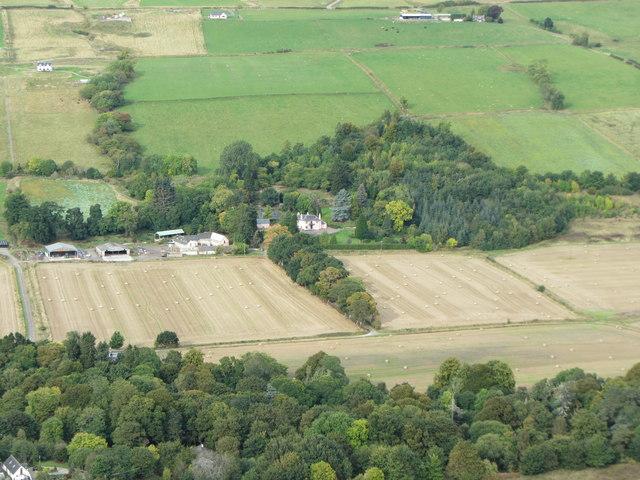 Keppoch House and farm