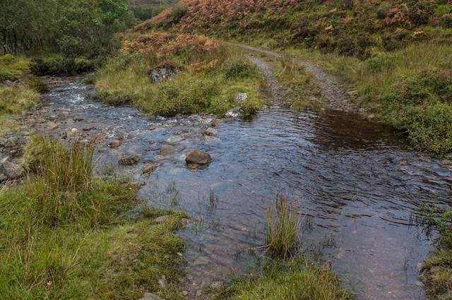 Track in Upper Gleann Beag