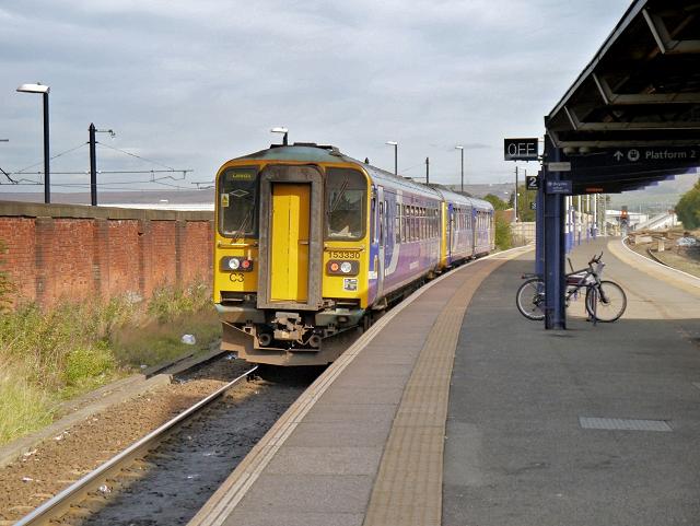 Train Leaving Platform 1