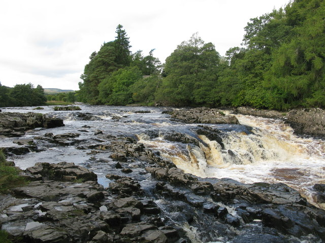 Small Waterfall on the River Tees