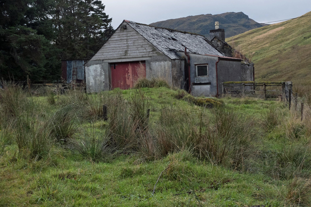 Ruined building at Moyle