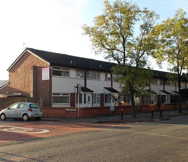 Row of houses, Heywood Street, Bury