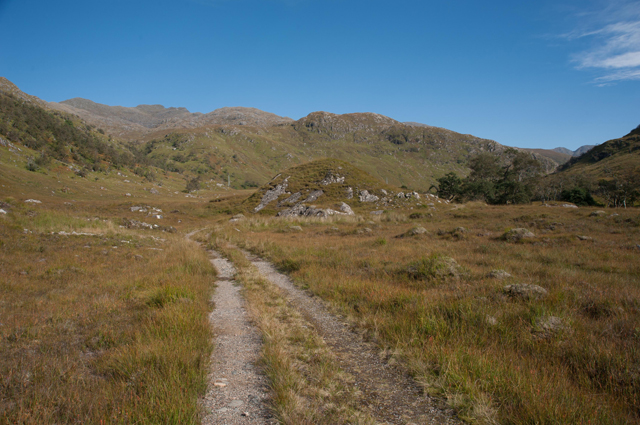 Track to Kinloch Hourn
