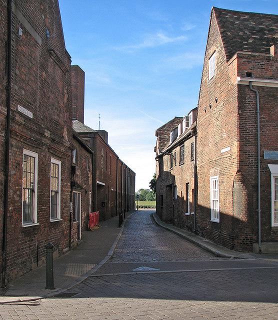 King's Lynn: College Lane