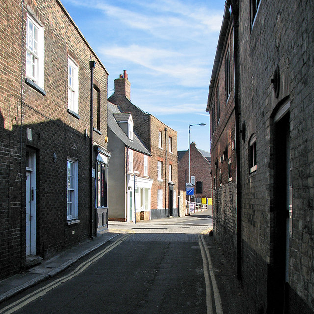 King's Lynn: the east end of Nelson Street