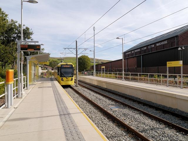 Newhey Metrolink Station