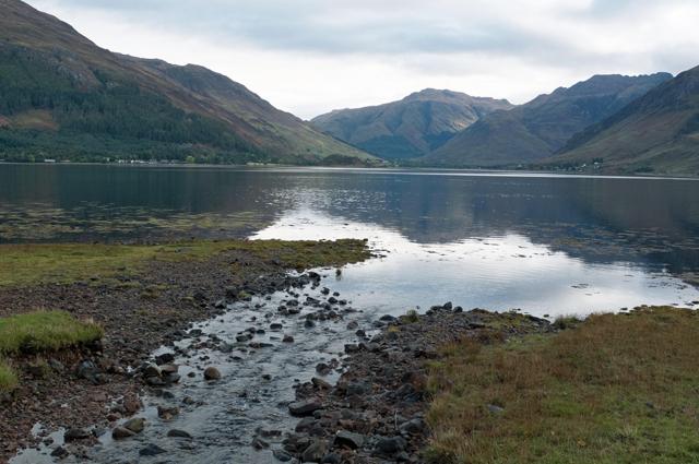 The Allt Ratagan entering Loch Duich